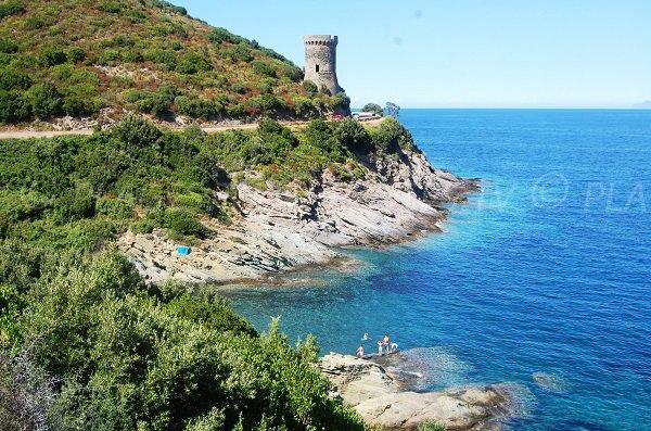 Photo of Osse beach in Pietracorbara in Corsica