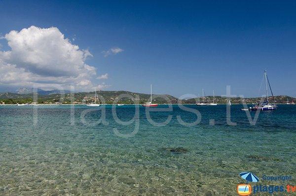 Mer dans la baie de St Cyprien