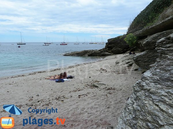 Ancienne grande plage de l'ile de Groix