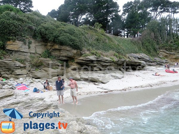 Small cove in Groix