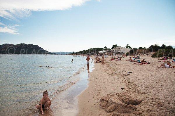 Photo de la plage de tramulimacchia à Lecci - Golfe de Porto Vecchio