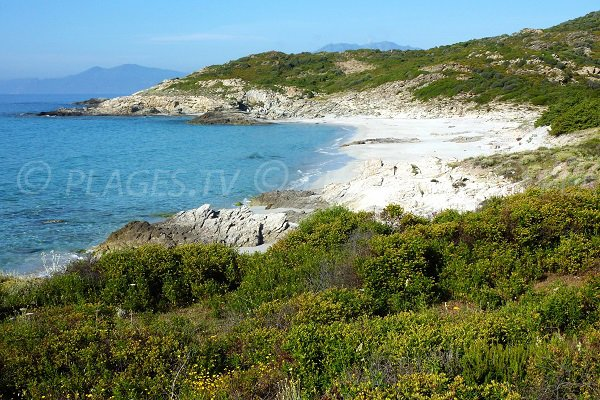 Trave beach near Ghignu beach - Corsica