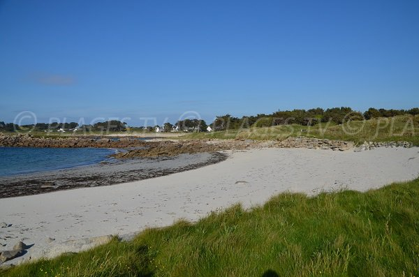 Photo de la plage de Treiz Lern à Pleumeur Bodou