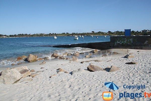Cale de la plage de Beg ar Galeti