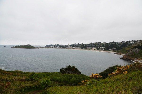 Photo de la plage de Tresmeur de Trébeurden