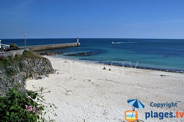 Photo de la plage de Trescadec à Audierne - Bretagne