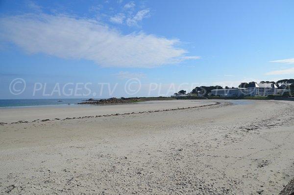 Photo de la plage du Trestel à Trévou Tréguignec