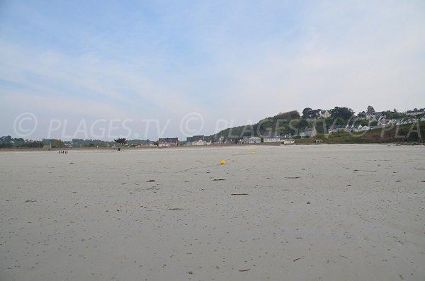 Environnement de la plage du Trestel (Bretagne)