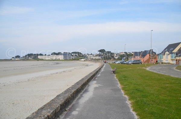 Parking de la plage du Trestel