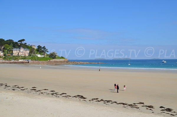 Perros Guirec beach in Brittany - Trestraou
