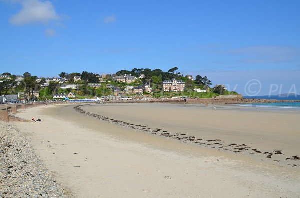 Trestraou beach in Perros Guirec in France
