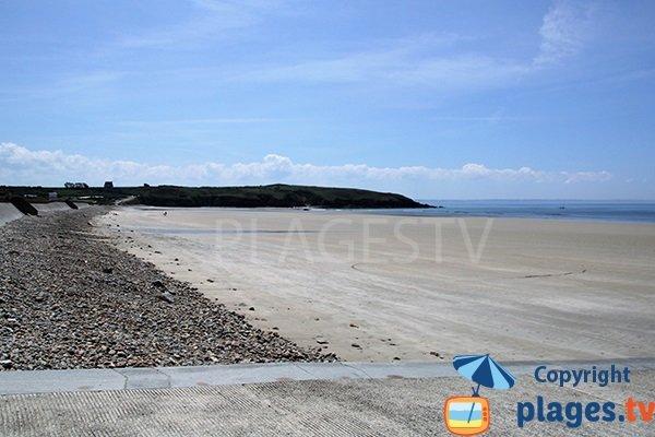 Plage de Trez Bellec à Telgruc sur Mer en Bretagne