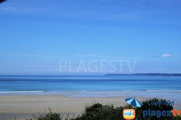 Photo de la plage de Trez Bellec à Telgruc sur Mer - Bretagne