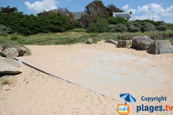 Cale de la plage de Trezmalaouen - Kerlaz