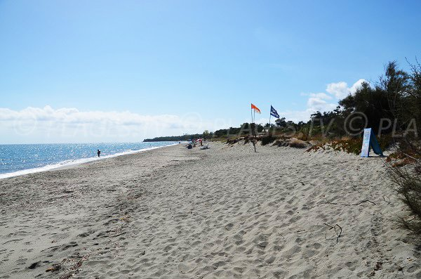 Photo of naturist beach in Linguizzetta - Corsica