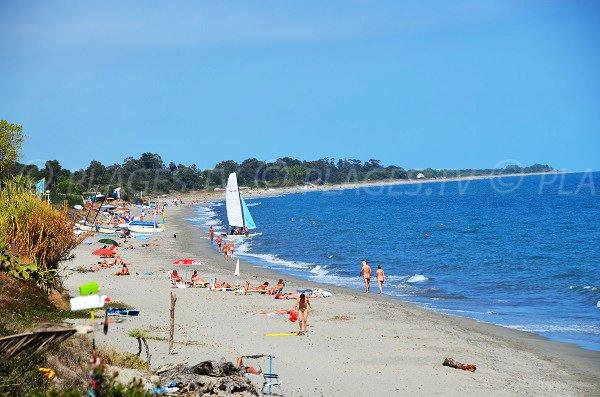 View onTropica beach from Bagheera beach - Linguizzetta