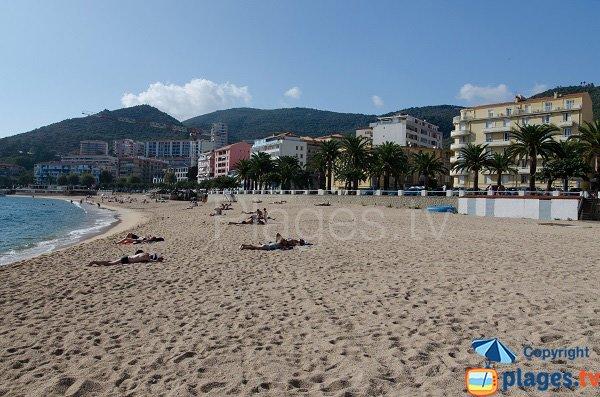 Foto spiaggia del Trottel - Ajaccio - Corsica