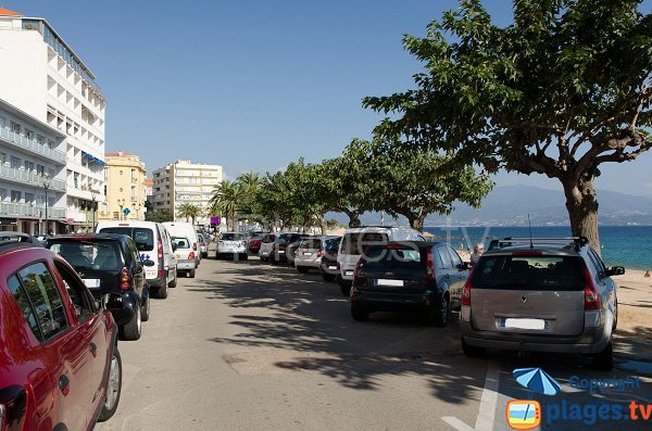 Parcheggio spiaggia del Trottel - Ajaccio