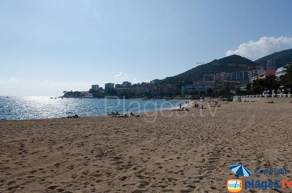 Spiaggia pubblica di sabbia a Ajaccio - Trottel
