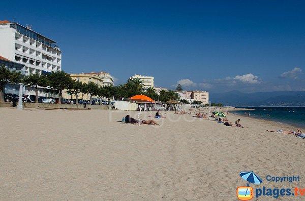 Spiaggia del Trottel Ajaccio