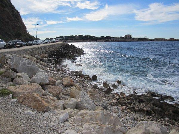 Spiaggia del Trou de Madame a Bandol