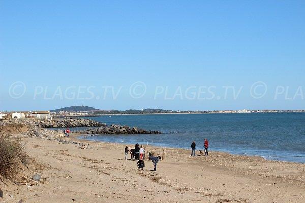 Spiaggia del Trou du Ragout a Vias - Francia