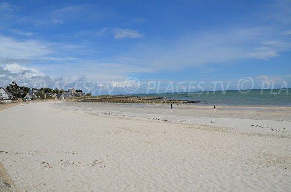 Ty Bihan beach in Carnac in France