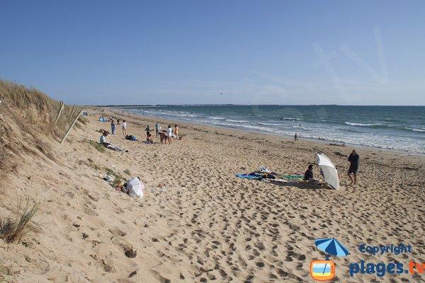 Photo de la plage de Ty Hoche - plouharnel