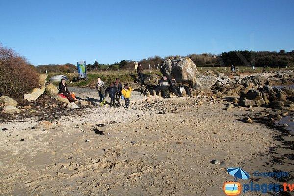 Plage de Ty Louzou - Finistère Nord
