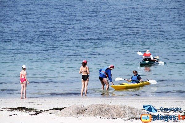 Kayak à Kerlouan - Vag Du