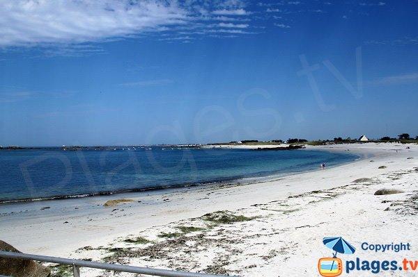 Grande plage à Kerlouan - Vag Du
