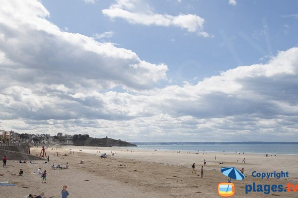 Val André beach in Pléneuf - Brittany