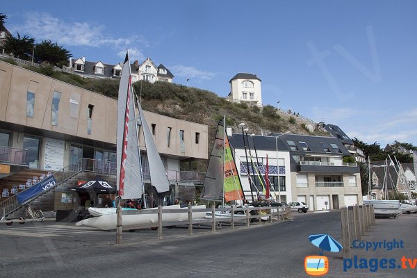 Nautical center of Pléneuf Val André