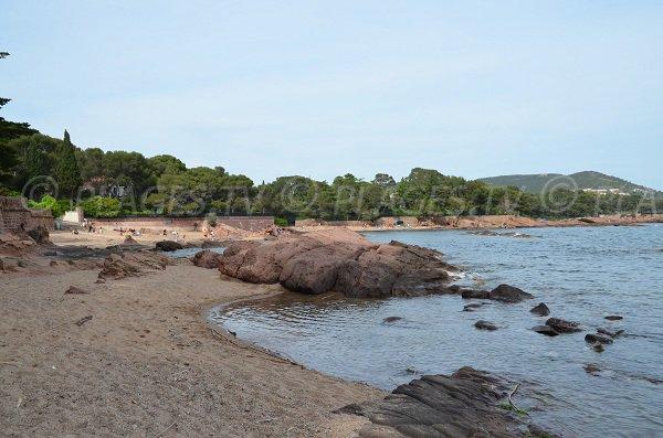 Spiaggia di sabbia del Val Fleuri a St Raphael