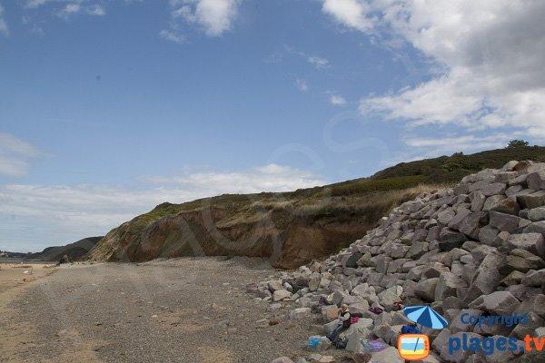 environment of Pléneuf les vallées beach