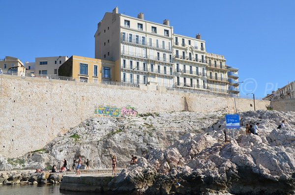 Photo of Vallon des Auffes in Marseille