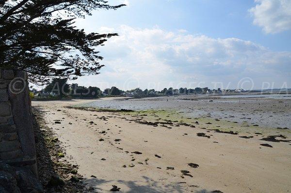 Photo de la plage Valy de Locmariaquer - Bretagne