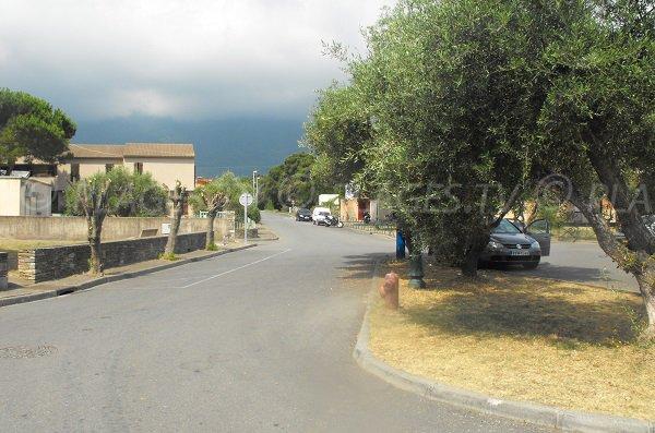 parcheggi a Santa Maria Poggio - Corsica