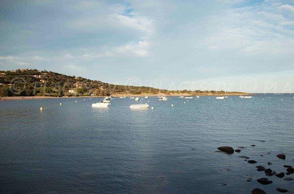Baie de Vardiola en Corse