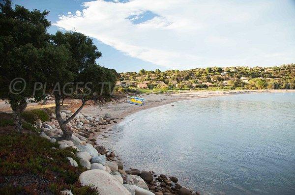 Photo de la plage de Vardiola à Ste Lucie de Porto Vecchio - Corse