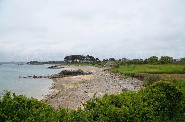 Photo de la plage de Varlen à Plougrescant