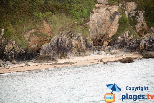Crique sauvage à Planguenoual - Vauguelin