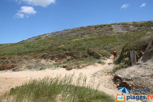 Sentier côtier de la plage de Vazen - Bangor