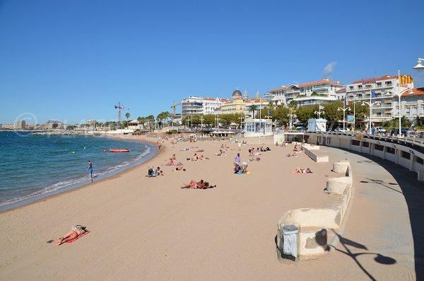 Abord de la plage de St Raphaël