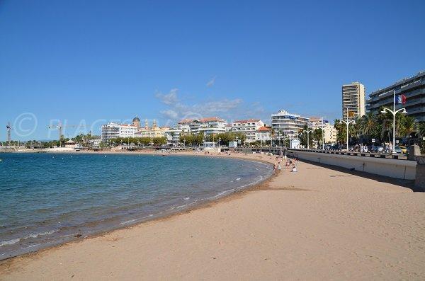 Spiaggia di Veillat a St Raphaël - Francia