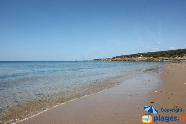 Photo of Grande Beach of Talmont toward the port