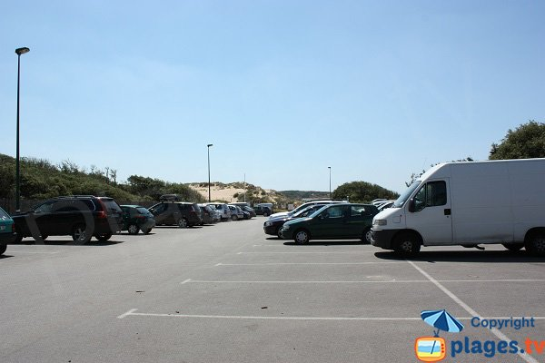 Parking de la plage du Veillon - Talmont