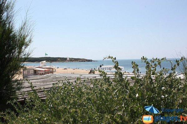 Photo de la plage du Veillon à Talmont Saint Hilaire