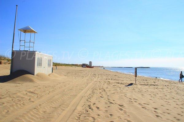 Spiaggia di Vendres in Francia