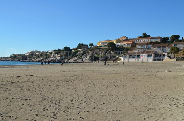 Environnement de la plage du Verdon de la Couronne